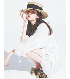 桐谷美玲,夏コーデ,vivi7月号,ファッション,リゾっぽ