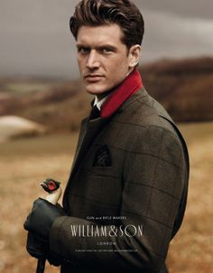 Стиль: сельский британский джентльмен.: la_gatta_ciara  William & Son зима 2012-2013
