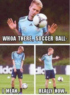 Really, soccer ball.