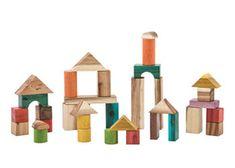 Colourful Wooden Blocks – 34 pieces - $76.95 MTA