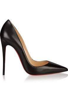 An investment piece that is worth the money. Christian Louboutin So Kate 120 leather pumps    Chasing Life