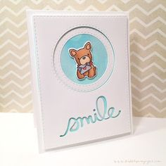 """Bubblegum Paper: """"New"""" Product Tuesday: Playful Pups Card Set featuring Mama Elephant"""