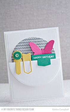 Birthday Bears, Sweater Stitch Background, Blueprints 21 Die-namics, Flutter of Butterflies - Solid Die-namics, Hip Clips Die-namics - Keisha Campbell #mftstamps