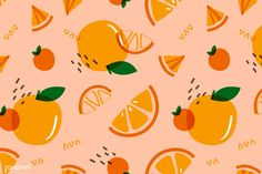 Orange Wallpaper, Mac Wallpaper, Macbook Wallpaper, Aesthetic Desktop Wallpaper, Computer Wallpaper, Peach Fruit, Orange Fruit, Cute Patterns Wallpaper, Cool Patterns