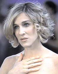 Sarah jessica parker short hair sex and the city