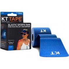 KT Tape Cotton Precut Blue