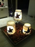Sinterklaas by candlelight Diy For Kids, Crafts For Kids, Diy Crafts, Fete Saint Martin, Christmas Candles, Christmas Crafts, Hl Martin, Wrapping Gift, Mason Jar Candles