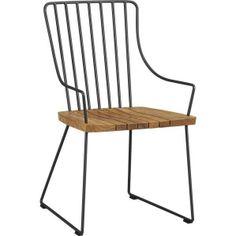Crate & Barrel  Berkshire Chair