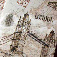 Cuaderno pequeño - Ciudades Buy here: www.lacasadepapel.com