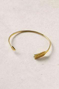 Arrow cuff bracelet from Anthropologie