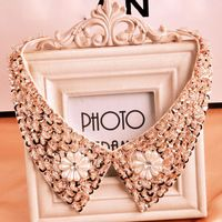 1pcs New 2014 Fashion Jewelry Necklace For Women Shiny Pearl Beads False Collars,$7.80 / piece