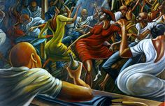 Ernie Barnes / African American Artist African American Artist, American Artists, African Art, Black Art Painting, Black Artwork, Ernie Barnes, Black Art Pictures, Afro Art, Black Artists