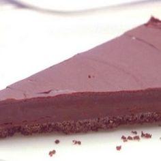 Chocolate Honey Almond Tart...very rich