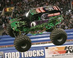 Monster Jam - Trucks - Grave Digger