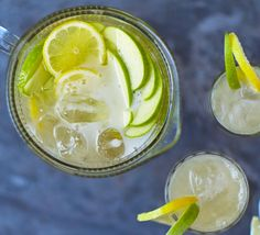 Spritz up a basic apple cocktail with a dash of prosecco and a splash of vodka