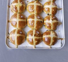 Hot cross buns - we used the scale and it needs a little extra flavor or maybe just salted butter. Takes ages though!!!!