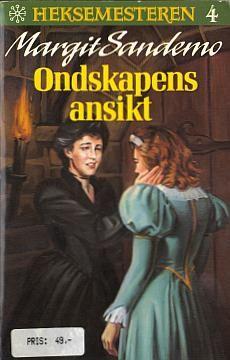 """Ondskapens ansikt"" av Margit Sandemo Fantasy Romance, Nostalgia, Reading, People, Books, Movies, Movie Posters, Libros, Films"