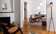 Scandinavian Furniture by Design House Stockholm Scandinavian Furniture, Scandinavian Design, Living Room Lighting, Home Lighting, Design House Stockholm, Design3000, White Pendant Light, Boutique Deco, Luminaire Design