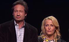 Gillian Anderson y David Duchovny. The X Files Revival