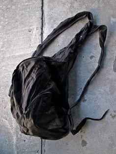 [m.a+] Double Straps Cargo Bag  BB1 SYO 0.9 col:BK size F 126,000yen  100% COW…