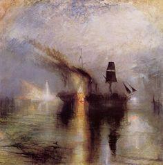 Turner, Joseph Mallord William: Frieden – Beerdigung auf dem Meer (Peace – Burial at Sea)