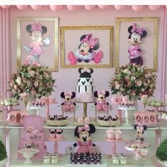 Minnie mouse Thin Hair Cuts how to cut bangs for thin hair Minie Mouse Party, Minnie Mouse Birthday Theme, Minnie Mouse Baby Shower, Minnie Mouse Cake, Mickey Party, Pink Gold Birthday, 2nd Birthday Parties, Decoration, Cut Bangs
