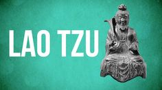 Lao Tzu, the founder of Taoism. EASTERN PHILOSOPHY - School of life.