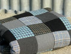 Upcycled Wool Suit Blanket More