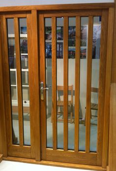 Oak door shown at Grand Design, what a show stopper Oak Doors, Grand Designs, Windows And Doors, Locker Storage, Furniture, Home Decor, Decoration Home, Room Decor, Home Furnishings
