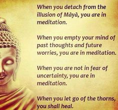 Meditation.  I want to learn how to meditate, to clear your mind and just relax.