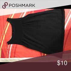 Black mini dress Black Sleeveless A-line shirt Dresses Mini