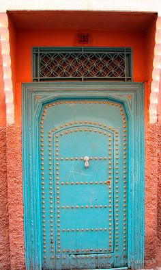 morrocan door  by milena boeva