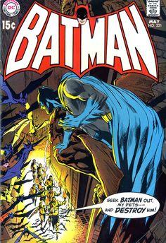 Batman #221 (1970). Cover art: The clever Neal Adams