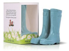 Scottish Fine Soaps The Novelty Collection Wellington Boot Soaps Blue Cute Stockings, Scottish Fashion, Wellies Boots, Soap Company, Turquoise, Home Made Soap, Soap Making, Hunter Boots, Boots
