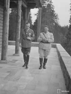 Question Name the two men who met.(Goering and Mannerheim) Georgia Country, Rain Cape, Inner Circle, Two Men, Uber, Finland, Vintage Photos, Two By Two, Third