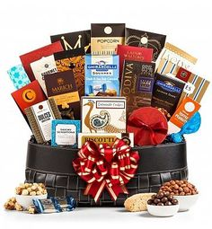 http://www.groceryandgourmetfood.info/gourmet-extravagance-gift-basket-review/ - Dramatically large in size and impact this extravagant gift basket delivers an abundance of epicurean enjoyment. Imagine the recipient' excitement...