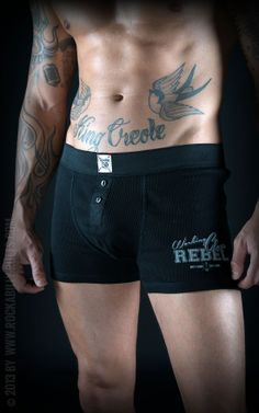 Sexy Utility Boxershorts aus 100% hochwertiger Baumwolle. - Rockabilly-Rules.com - Onlineshop für Pin Up und Rockabilly Style