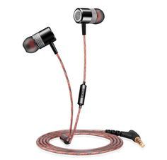 11.07$  Buy here - http://alihtn.shopchina.info/1/go.php?t=32645159172 - Metal earphone oise Isolating Earbuds with mic, Bass Enhanced+Bass Boosted and Stereo Surround Sound Audio earphones In-ear  #SHOPPING