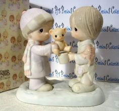 "Precious Moments ""Christmastime Is For Sharing""  E-0504 Fish V=$135"