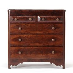 Chest of Drawers, Thomas Day, Signed