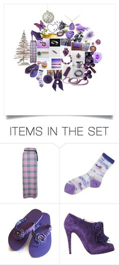 """Terrific Gifts in Purple"" by crystalglowdesign ❤ liked on Polyvore featuring art"