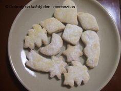 Recept Šlehačkové cukroví - Naše Dobroty na každý den Feta, Dairy, Cheese, Cookies, Desserts, Crack Crackers, Tailgate Desserts, Deserts, Biscuits