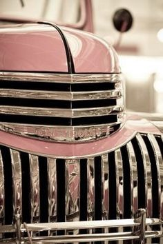 """""""pink chevy"""" Love this shot. S"""