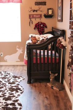 Cowboy theme for baby boy's nursery