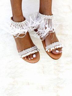 Mon Cherie sandals by Elina Linardaki