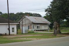 old train depot  in Leary  Ga