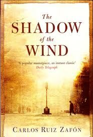 """The Shadow of the Wind by Carlos Ruiz Zafon.one of my favorite books of all time. When you're done with this one, read """"The Angel's Game"""" by the same author. I Love Books, Good Books, Books To Read, My Books, Amazing Books, Love Reading, Reading Lists, Book Lists, Reading Nooks"""