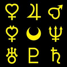 sailor moon symbols - Google Search