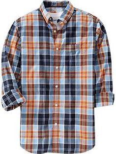 Men's Everyday Classic Regular-Fit Shirts