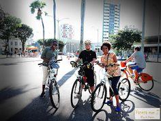 passeio de bike em Salvador. praça do campo grande.